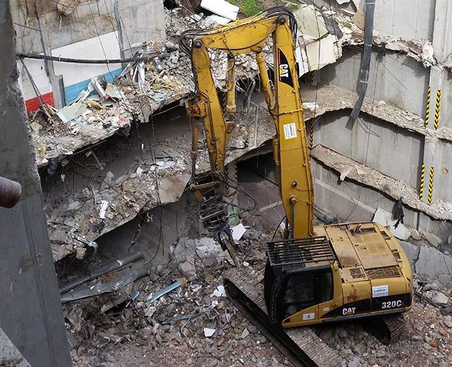 """""""City Park Ružinov"""" – demolition of structures building D / stage A, B, C, D, E /"""