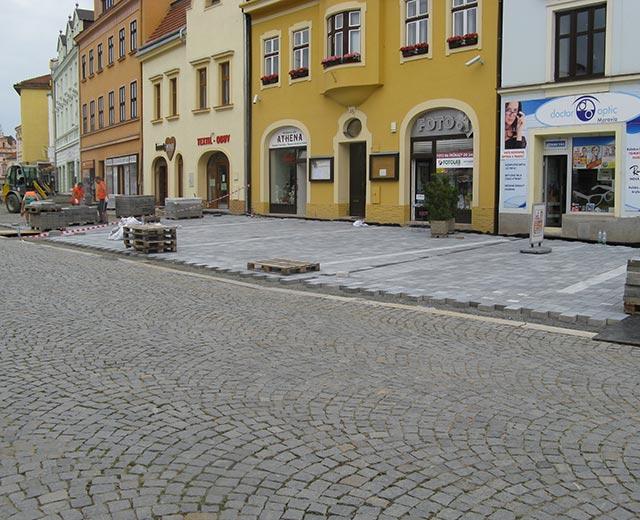 Repair of Masaryk Square, Vyškov
